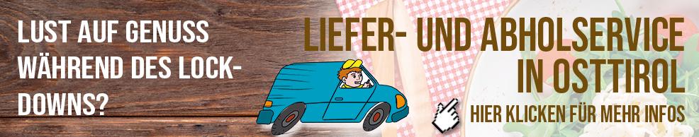 Liefer- und Abholservice in Osttirol